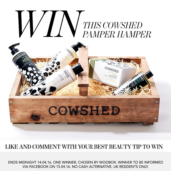 Cowshed Facebook Competition