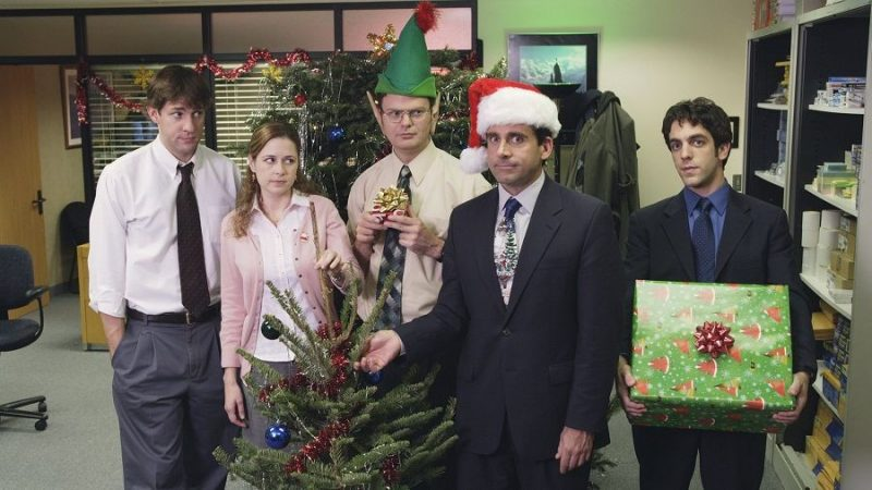 5 People You'll Find at the Christmas Party - cover