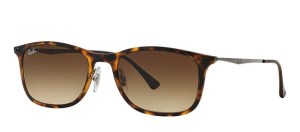 Ray-Ban Unisex Tortoise Light Ray Sunglasses men's designer accessories