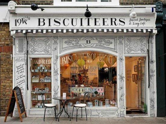 Afternoon tea with biscuiteers