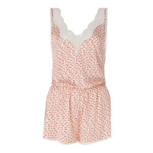 STELLA MCCARTNEY Ecru Ellie Leaping All In One Playsuit