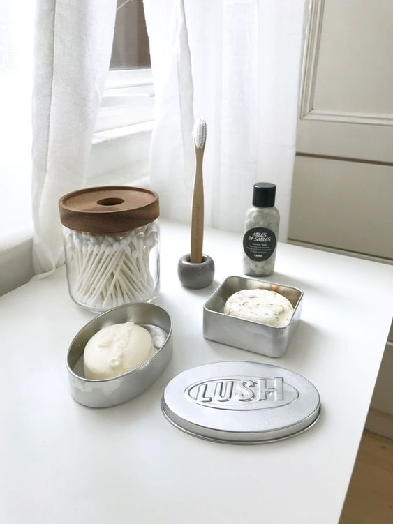 lush reusable beauty products