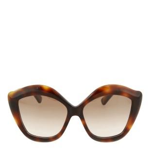 Gucci Women's Tortoiseshell Cat Eye Sunglasses