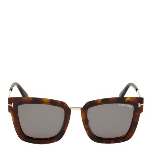 Women's Brown Tom Ford Sunglasses 52mm