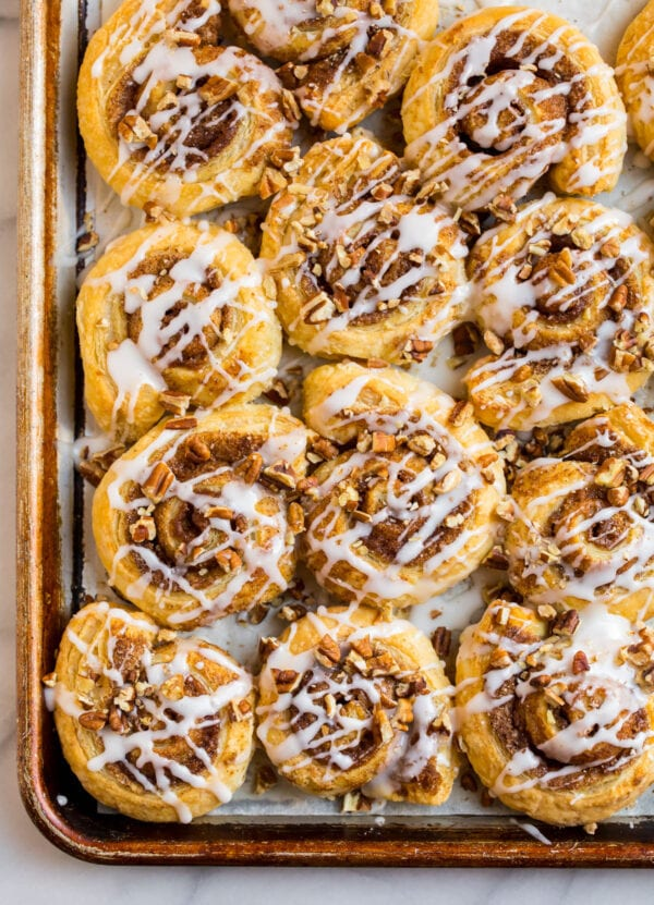 Puff Pastry Cinnamon Rolls Recipe Jus-Rol