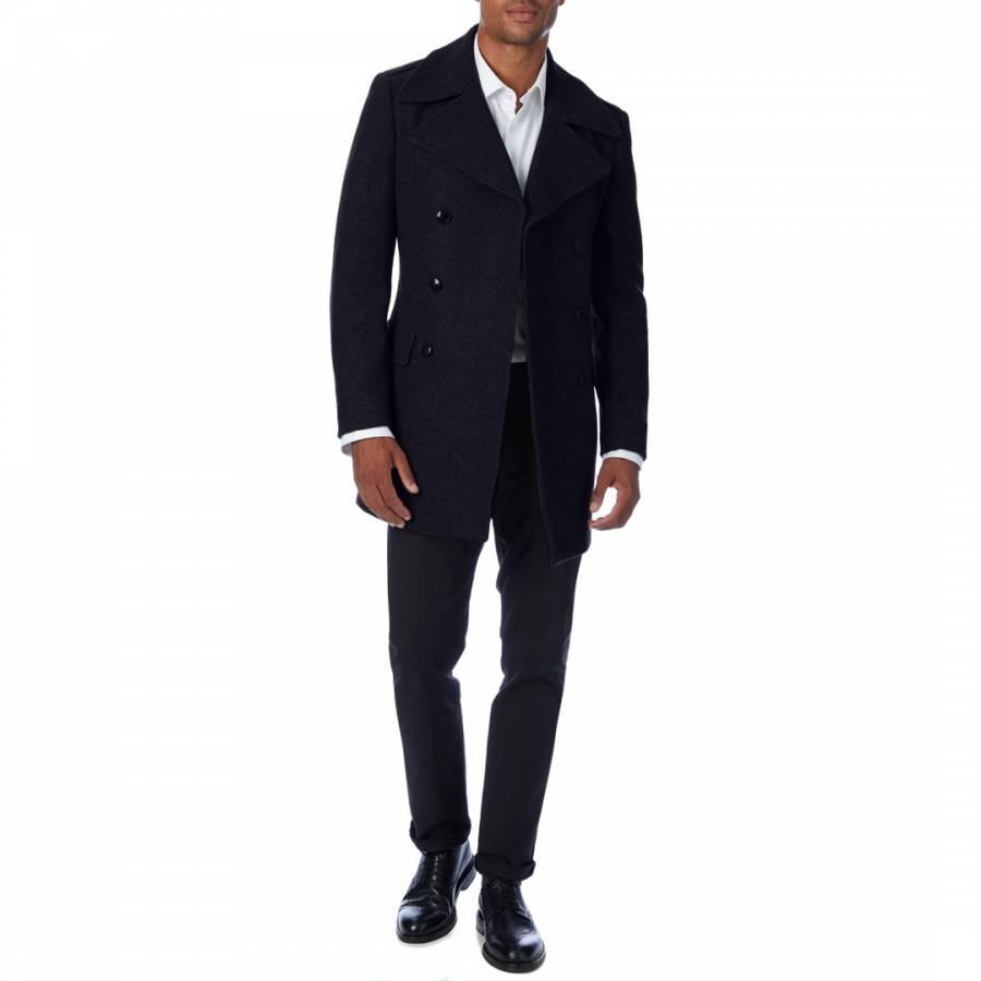Black Friday Coat, Gianni Feraud Wool Blend Coat