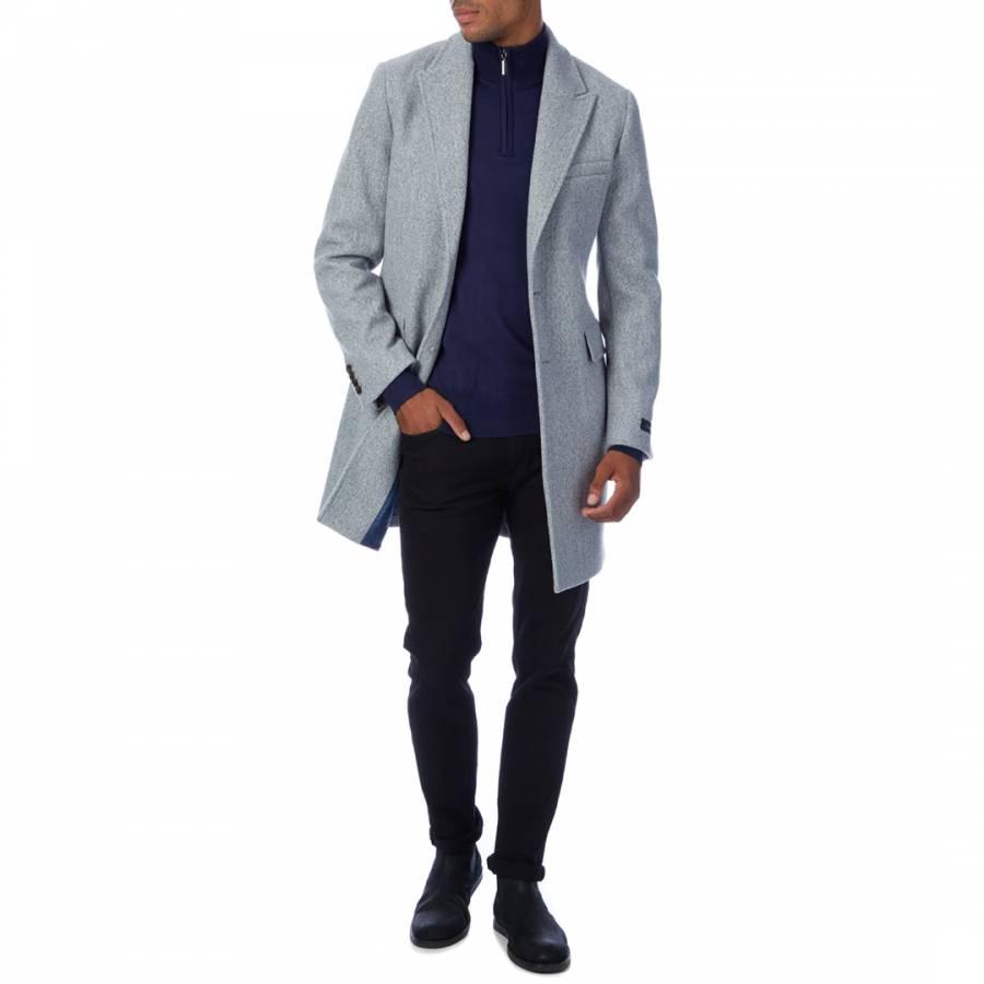 grey coat, grey charcoal coat, black friday coat