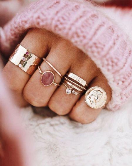 Ring stacking