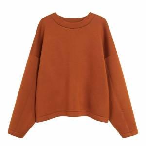 knitted sweatpants Mango Russet Oversized Structured Sweatshirt - £19