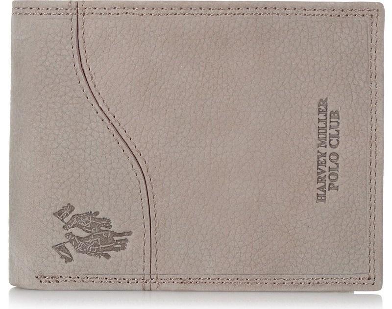 Δερμάτινο Πορτοφόλι Harvey Miller Polo Club 733129