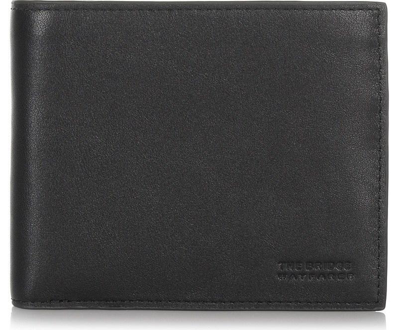 Δερμάτινο Πορτοφόλι The Bridge Wayfarer Striper Horizontal Wallet With Coin Holder STP238