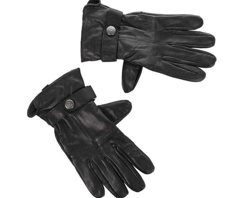 Αντρικά Δερμάτινα Γάντια Trussardi Jeans 57W002