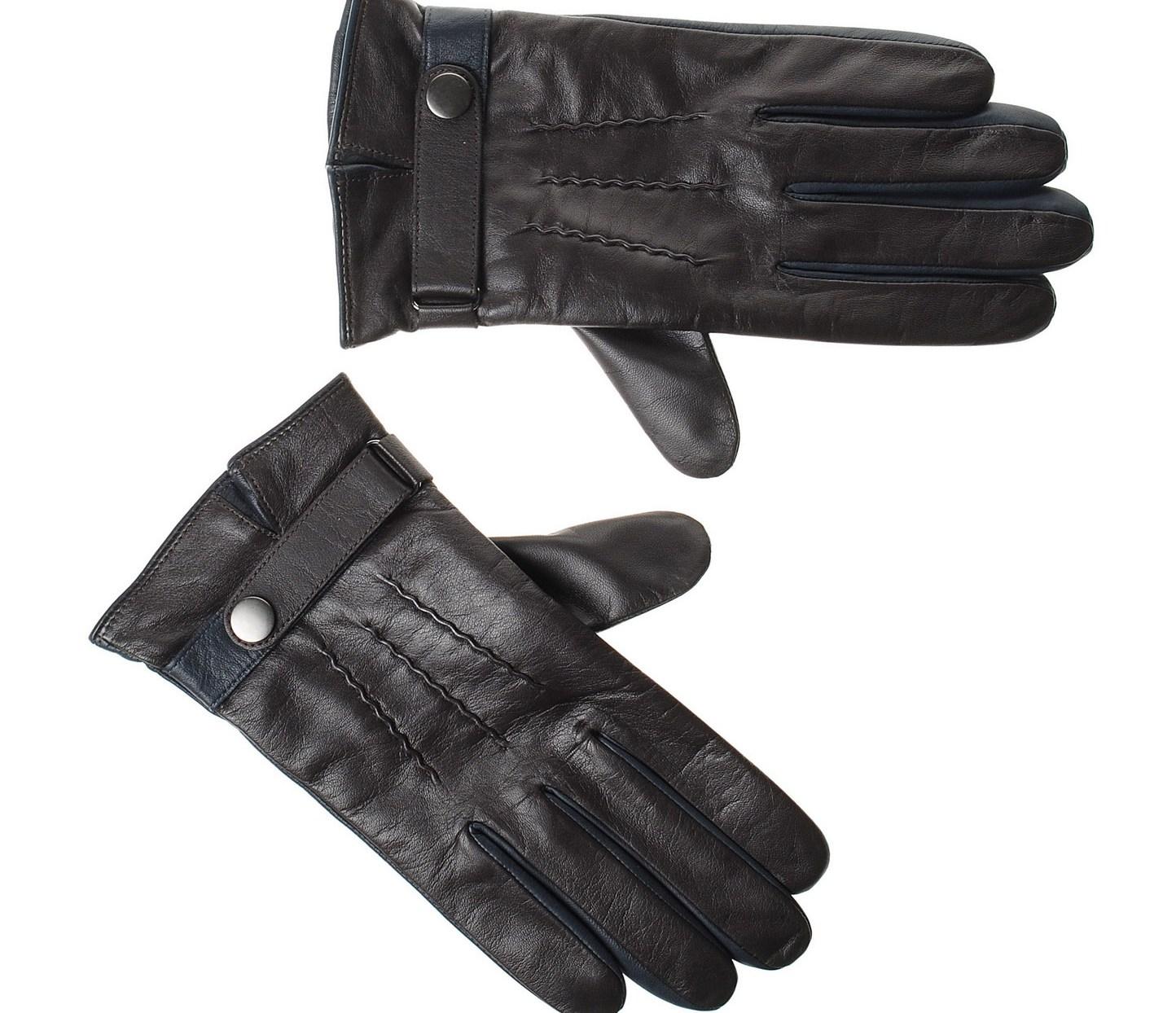 Αντρικά Δερμάτινα Γάντια Guy Laroche 98950