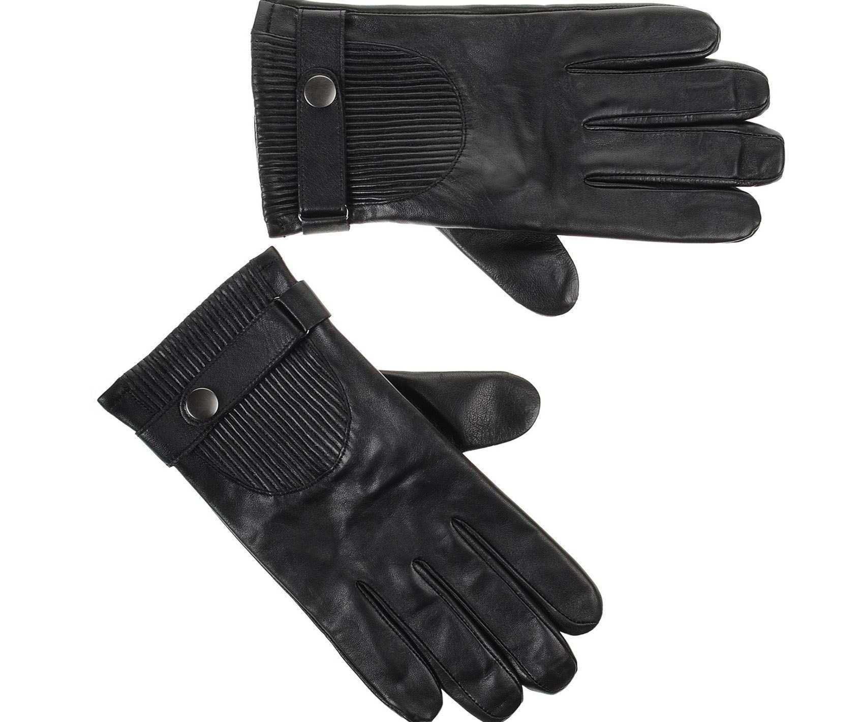 Αντρικά Δερμάτινα Γάντια Guy Laroche 98958