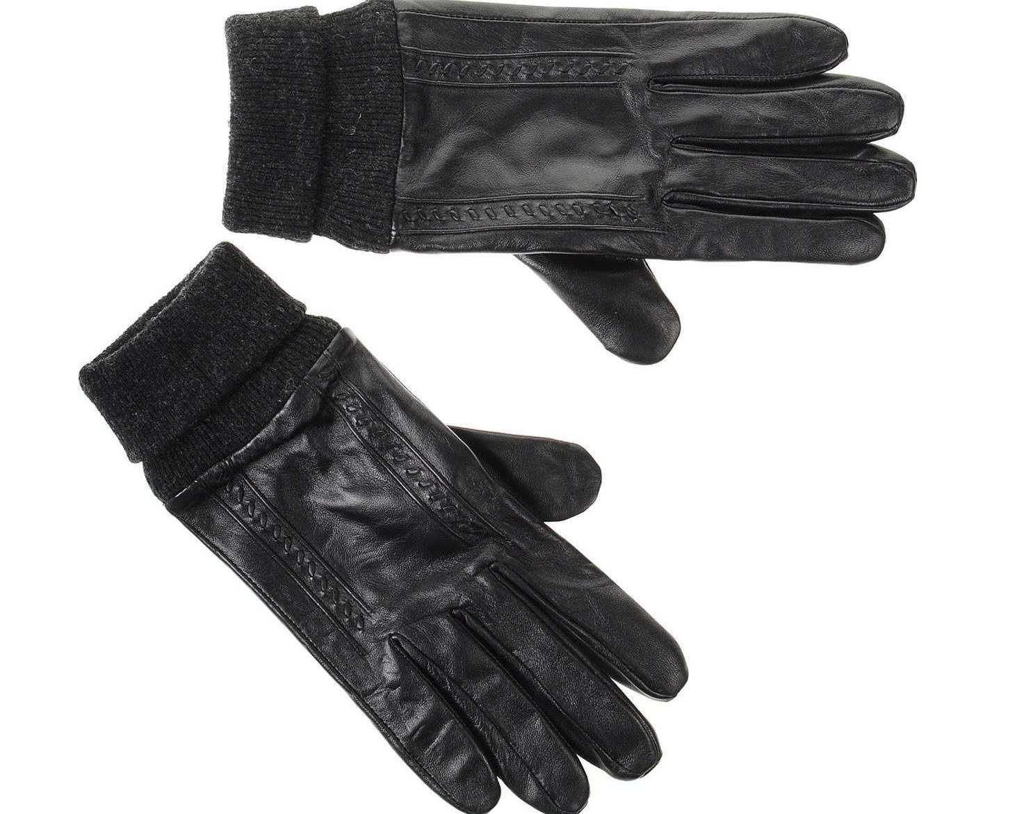 Αντρικά Δερμάτινα Γάντια Guy Laroche 98959