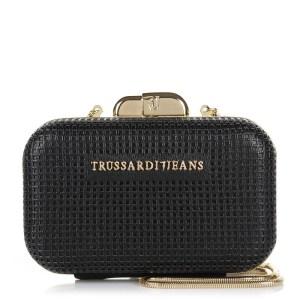 Clutch Trussardi Jeans Red Carpet Ecoleather Net Miniaudiere Bag 75B208