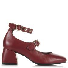 Δερμάτινα Ankle Παπούτσια Wonders Η-3323