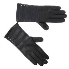 Δερμάτινα Γυναικεία Γάντια Tommy Hilfiger Stripy Leather Gloves AW04394