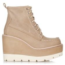 Δερμάτινα Μποτάκια Jeffrey Campbell Hinton Wedged Boots