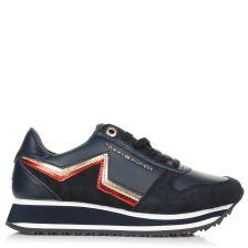 Δερμάτινα Sneakers Tommy Hilfiger Tommy Star Retro Run FW0FW03234