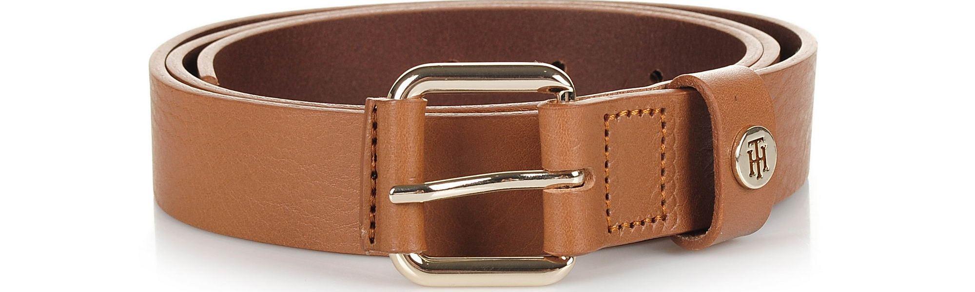 Δερμάτινη Ζώνη Tommy Hilfiger Leather Covered Buck AW0AW05889