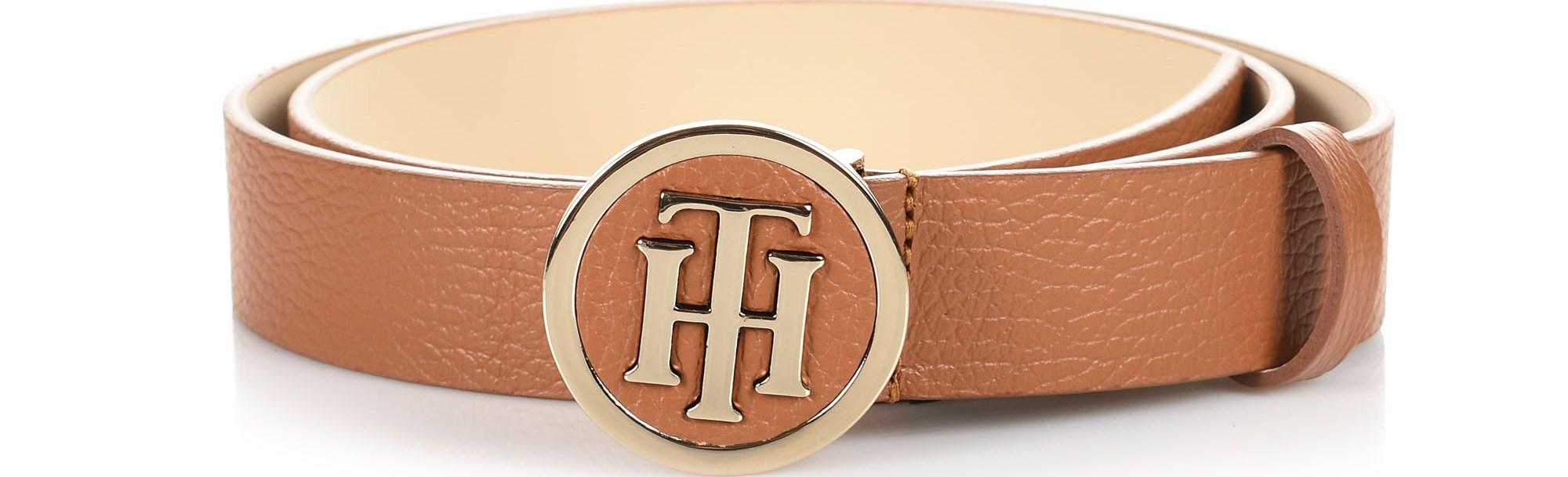 Δερμάτινη Ζώνη Tommy Hilfiger TH Round Belt AW0AW06167