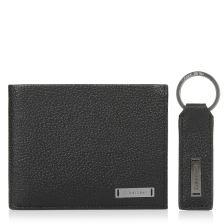 Δερμάτινο Πορτοφόλι Calvin Klein Pebble W Plaque Gift K50K503956