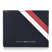 Δερμάτινο Πορτοφόλι Tommy Hilfiger AM0AM04546 Bold Corporate Mini CC image