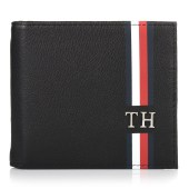 Δερμάτινο Πορτοφόλι Tommy Hilfiger AM0AM04556 TH Corporate CC image
