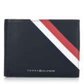 Δερμάτινο Πορτοφόλι Tommy Hilfiger Bold Corporate Extra CC And Coin AM0AM04543 image
