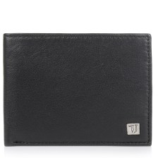 Δερμάτινο Πορτοφόλι Trussardi Jeans Wallet Credit Card Coin Pocket Smooth 71W00004