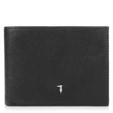 Δερμάτινο Πορτοφόλι Trussardi Jeans Wallet Credit Card Coin Pocket Tumbled 71W00004