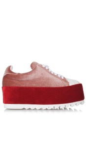 Flatform Sneakers Jeffrey Campbell Synergy V Shell Toe