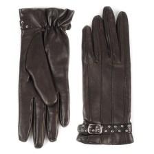 Γυναικεία Δερμάτινα Γάντια L28 300845