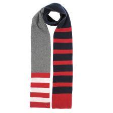 Κασκόλ Tommy Hilfiger Seasonal Stripe Scar AM0AM04036