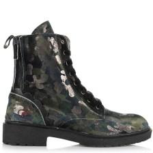 Μποτάκια Fornarina Kim Velvet Camouflage No Studs Wo's PI18KM1090X