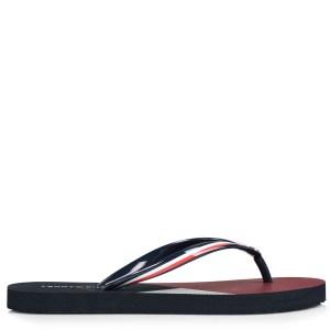 Σαγιονάρες Tommy Hilfiger Flat Beach Sandal Stripe Print FW0FW04043