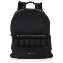 Σακίδιο Πλάτης Ted Baker Ruffle Detail Zip Backpack XH9W 151174