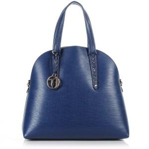 Tote Τσάντα Trussardi Jeans Aspen Ecosaffiano Dome+Pochette Bag 75B129
