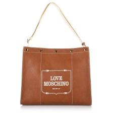 Τσάντα Ώμου Love Moschino Borsa Grain JC4072PP17LH