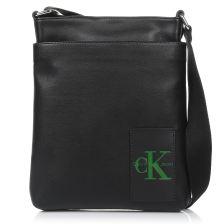Τσαντάκι Χιαστί Calvin Klein Coated Canvas Flat P K50K503740