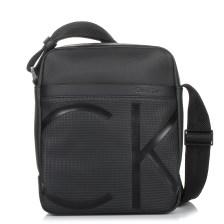 Τσαντάκι Χιαστί Calvin Klein Raised Logo Reporter K50K503691
