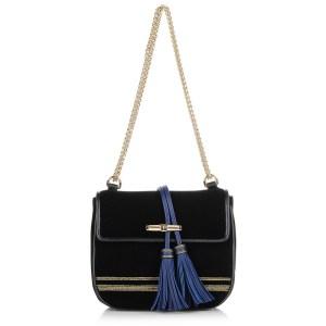 Τσαντάκι Ώμου - Χιαστί Trussardi Jeans Judy Velvet Hunting Bag 75B111