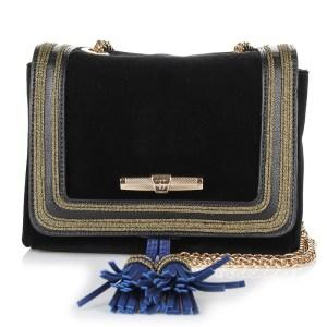 Τσαντάκι Ώμου - Χιαστί Trussardi Jeans Judy Velvet Mini Bag 75B110