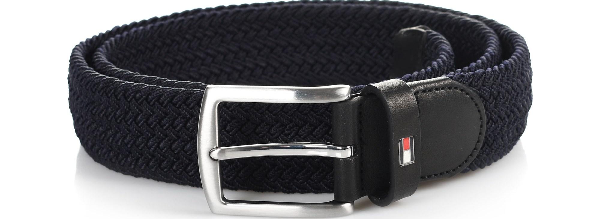 Ζώνη Tommy Hilfiger Denton Elastic Belt 3.5 AM0AM04480