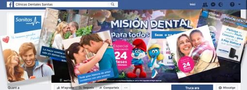 Sanitas Dental social networks