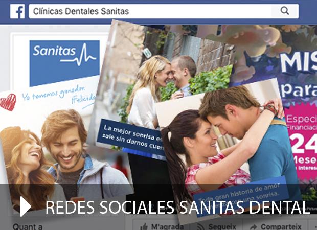 Redes sociales Sanitas Dental