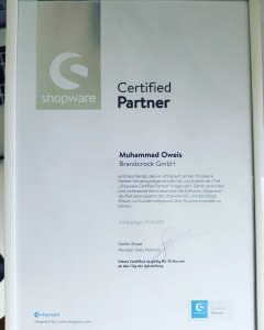 Brandcrock-Shopware Certified Partner