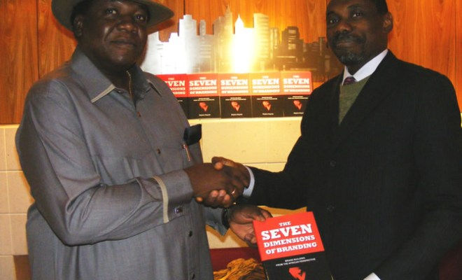 Minister of Tourism and Culture Edem Duke with Muyiwa Kayode