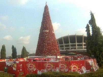 CocaCola Xmas Tree
